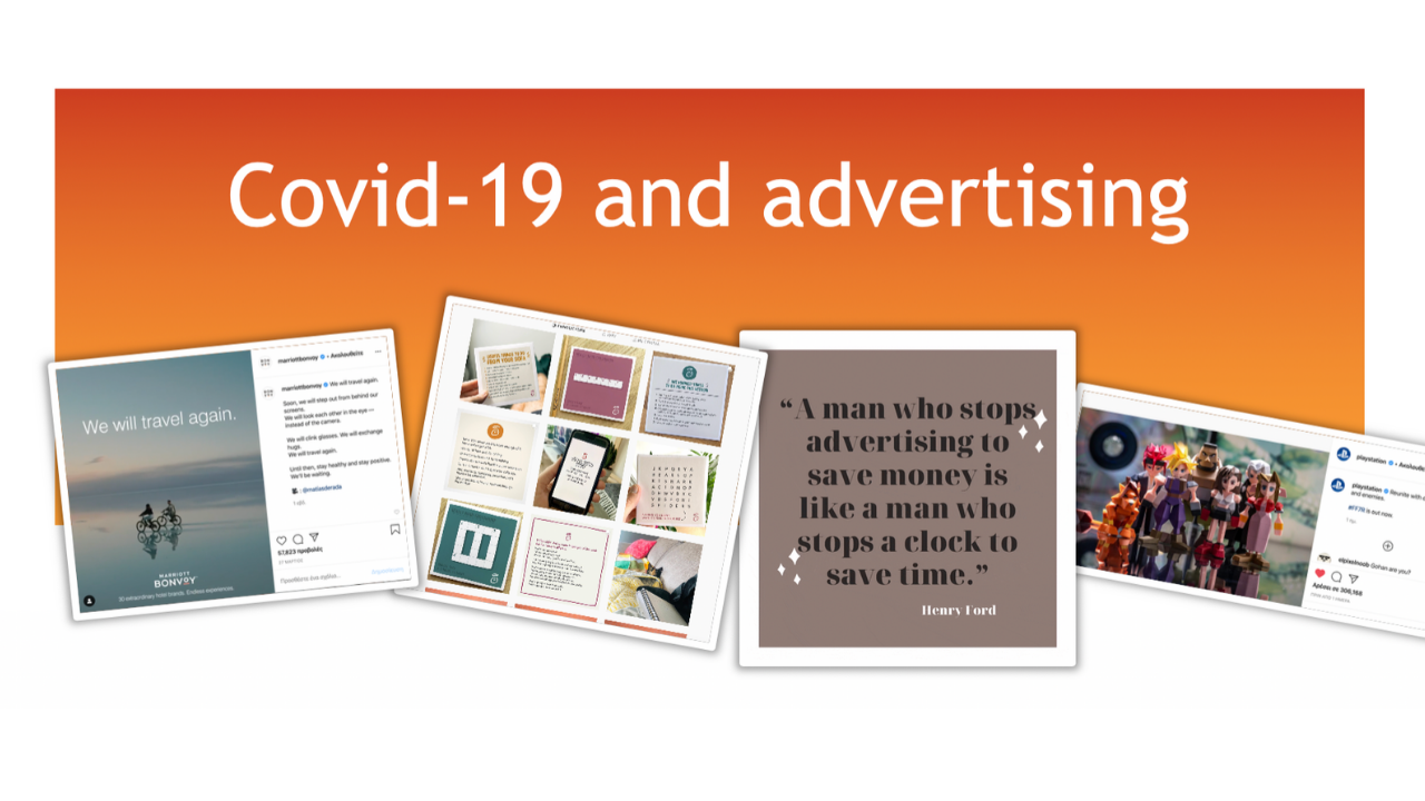 COVID-19 and advertising in crisis